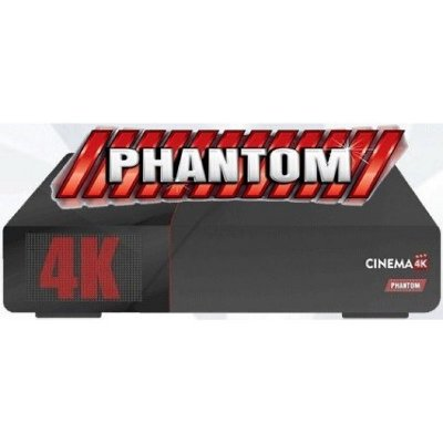 RECEPTOR PHANTOM CINEMA 4K ACM IPTV/SKS/IKS