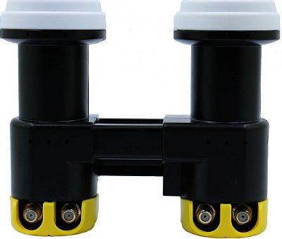 Kit Lnb Carona 2x2 Duplo 4 Saídas Pb-d22lnb (2 60w + 2 70w)