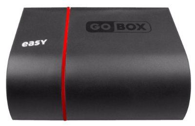 Receptor Go Box Easy - IPTV - 4K - Iptv Wifi Android Via Internet F.T.A