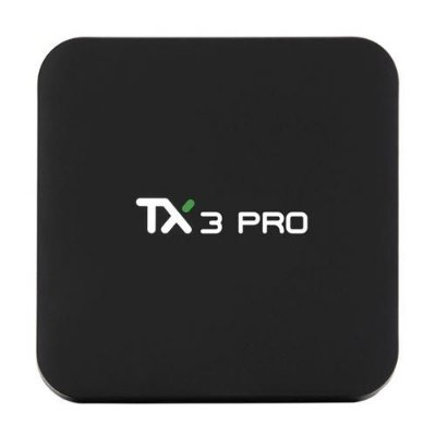 Receptor TX3 Pro - Android 6.0 - 4K - H265 - Para Tv Virar Smart Netflix Wifi
