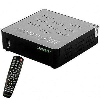 RECEPTOR TOCOMSAT COMBAT S3 - WI-FI / IKS-SKS-IPTV / ACM