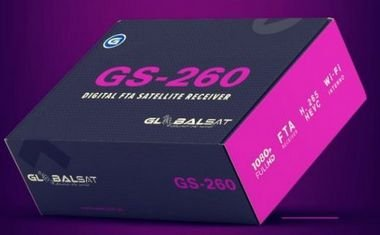 Globalsat GS-260 Full HD Wi-Fi ACM