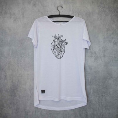 USE YOUR HEART - LONG TEE