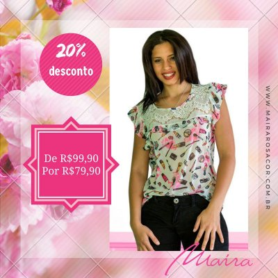 Blusa Estampada Make