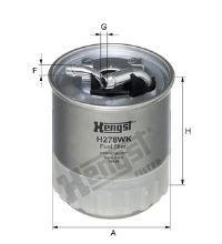 Filtro de Combustível DODGE, FREIGHTLINER, JEEP, MERCEDES-BENZ
