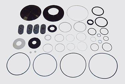 Reparo Caixa Direção Hidráulica Servocom - 1614 a 1620  (Tampas de plástico)
