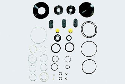 Reparo Caixa Direção Hidráulica Servocom - 1218 a 2214  (Tampas laterais de plástico)