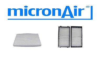 Kit Filtro Ar Condicionado Bmw X5 X6 Micronair Original