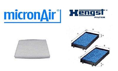 Kit Filtro Ar Condicionado Bmw X5 X6 (Hengst Micronair)