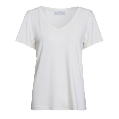 T-Shirt Essential Modal Gola V Off White