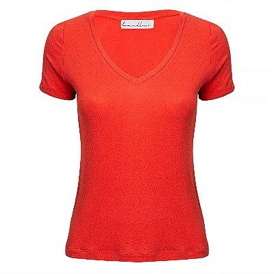 T-Shirt Linho Coral