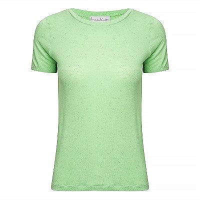 T-Shirt Gola C Linho Menta Neon
