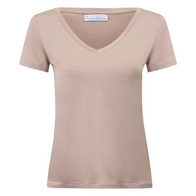 T-Shirt Gola V Modal Avelã