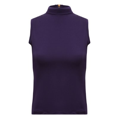 Regata Turtleneck Modal Púrpura