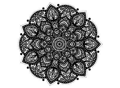 Mandala - #073