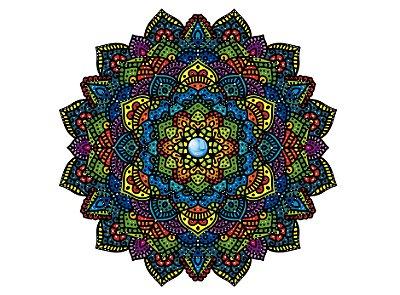 Mandala - #076