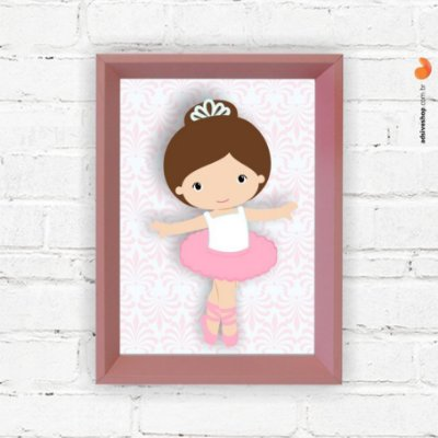 "Quadro Decorativo ""Bailarina II"""