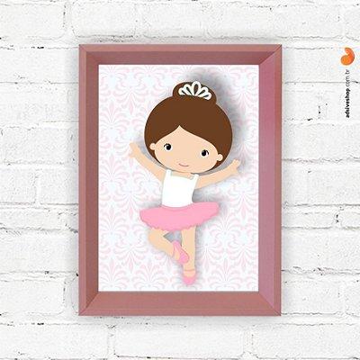 "Quadro Decorativo ""Bailarina III"""