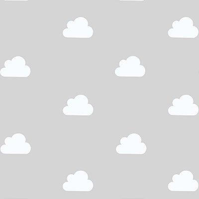 """Papel de Parede Adesivo """"Nuvens"""""""