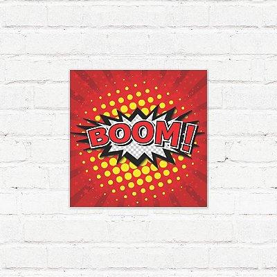 "Placa Decorativa ""Cartoon Explosion"""