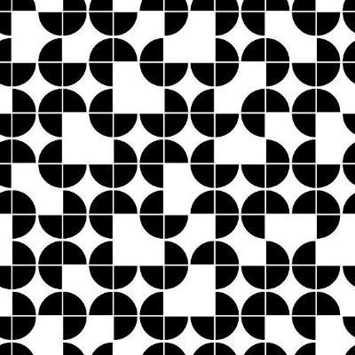 "Papel de Parede Adesivo ""Geometric"""