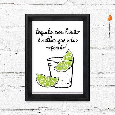 "Quadro Decorativo ""Tequila"""