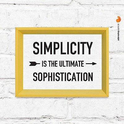 "Quadro Decorativo ""Simplicity"""