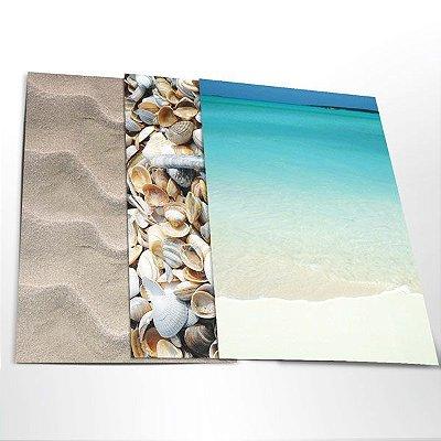 """Adesivo Decor A3 """"Praia"""""""