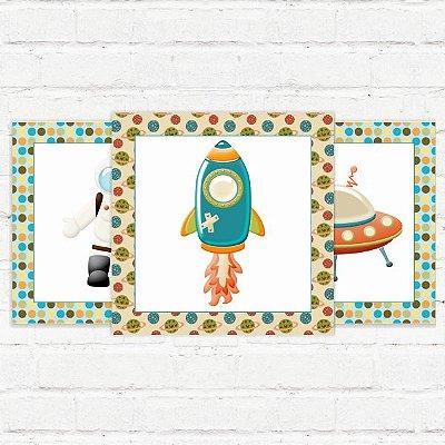 "Placas Decorativas ""Space"""