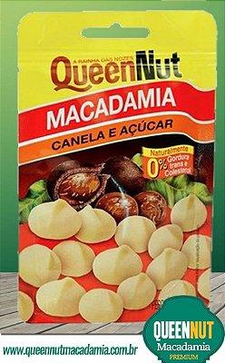 Macadâmia - Canela e Açúcar - 100g