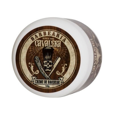 Creme de Barbear Shaving Cream Foam 100g - Cavalera