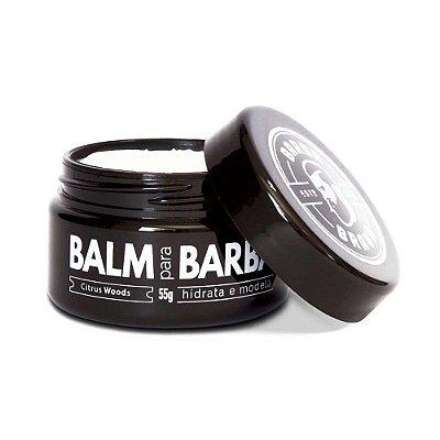 Balm para Barba Citrus Woods 55g - Barba Brava