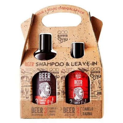 Kit Beer Shampoo & Leave-in - QOD Barber Shop
