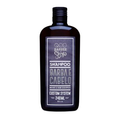 Shampoo Barba e Cabelo Custom System 240ml - QOD Barber Shop