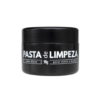 Pasta de Limpeza para Rosto e Barba Coffee Blend 90g - Barba Brava