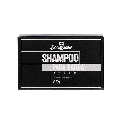 Shampoo para Barba em Barra Elite 65g - Beard Brasil