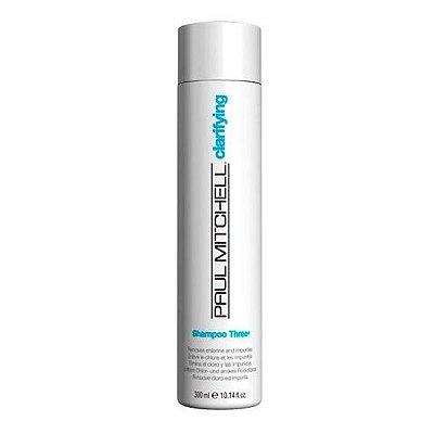 Shampoo Anti-Resíduos Three 300ml - Paul Mitchell