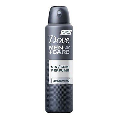 Desodorante Antitranspirante Sem Perfume 150ml - Dove Men+Care