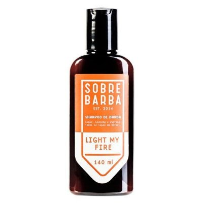 Shampoo de Barba Light My Fire 140ml - Sobrebarba
