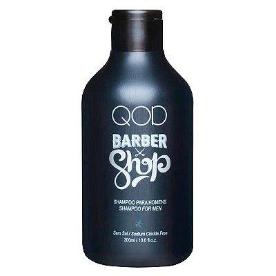 Shampoo Uso Diário 300ml - QOD Barber Shop