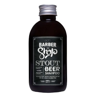 Shampoo Anti-Ressecamento Stout Beer 250ml - QOD Barber Shop