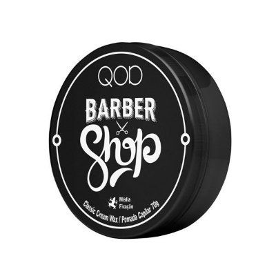 Pomada Modeladora Classic 70g - QOD Barber Shop