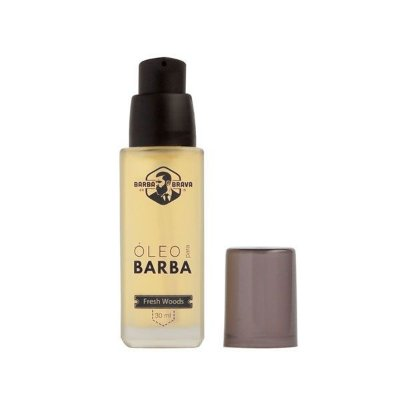Óleo para Barba Fresh Woods 30ml - Barba Brava