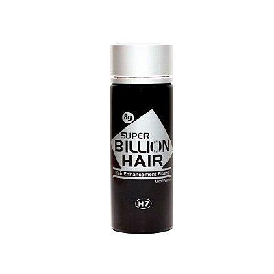 Disfarce para Calvície Preto 8g - Super Billion Hair
