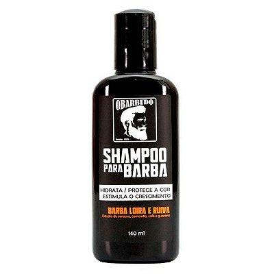 Shampoo para Barba Loira e Ruiva 140ml - O Barbudo