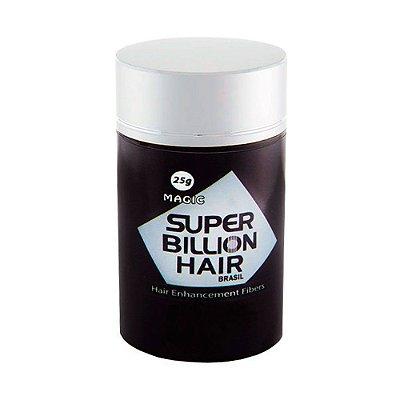 Disfarce para Calvície Castanho Médio 25g - Super Billion Hair