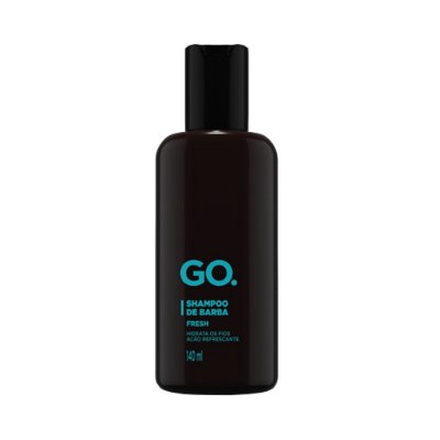 Shampoo de Barba Fresh 140ml - Go.