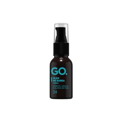 Óleo de Barba Fresh 25ml - Go.