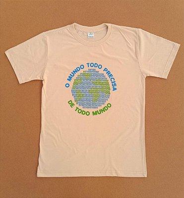 Camiseta Ecológica Todo Mundo