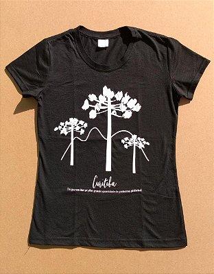 Camiseta Ecológica Araucárias Curitiba